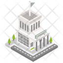 Building Architecture Embassy Icon