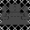 Embezzlement Corruption Defraud Icon