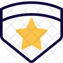 Double Emblem Star Military Icon
