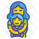 Embrace Hug Hold Icon