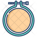 Embroidery Hoop Icon