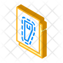 Sewing Pattern Isometric Icon
