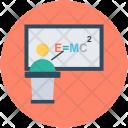 Emc 2 Formula Einstein Icon