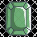 Emerald Diamond Gem Icon
