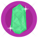 Gemstone Diamond Emerald Cut Icon