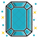 Emerald Diamond Icon