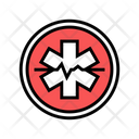 Emergency Ambulance Hospital Icon