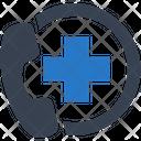 Emergency Call Ambulance Icon