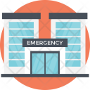 Emergency Place Hospital Icon