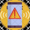 Phone Emergency Alert Mobile Icon
