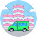 Emergency Ambulance Hospital Cargo Emergency Vehicle Icon
