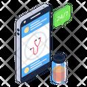 247 Medical Service Online Doctor Medical App Icon