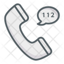 Phone Emergency Call Center Icon