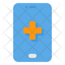 Smartphone Emergency Call Medical Icon