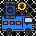 Ambulance Covid Coronavirus Icon