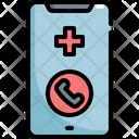 Emergency Call Emergencies Icon