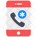 Emergency Call Medical Helpline Medical Assistant Icon