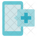 Medical Service Emergency Call Phone Icon