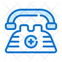 Emergency Call Medical Health Icon