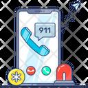 Phone Emergency Call Hospital Call Service Icon