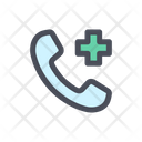 Emergency Call Hospital Call Medical Call Icon