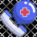 Emergency Call Medical Call Medical Helpline Icon