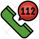 Emergency Call Communications Technology Icon