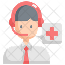 Emergency Call Center Icon