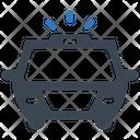Emergency Car Police Icon