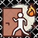 Emergency Door Fire Escape Emergency Icon