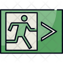 Emergency Exit Exit Fire Exit Icon