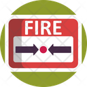 Exit Fire Emergency Icon