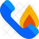 Emergency Fire Call Icon