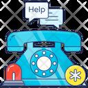Emergency Helpline Icon