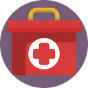 Healthcare Service Emergency Kit First Aid Kit Icon