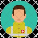 Emergency Man Medical Icon