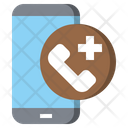 Healthcare And Medical Emergency Call Tools And Utensils Icon