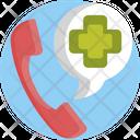 Call Telephone Healthcare Icon