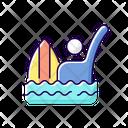 Signal Emergency Surfing Icon