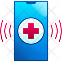 Emergency Siren Alert Hospital Icon