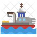 Emergency Support Vessel Icon