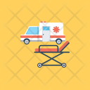 Ambulance Transport Healthcare Icon