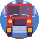 Fire Fighter Vehicle Transport Icon