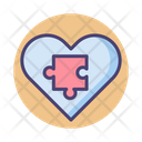 Emergent Behavior Heart Puzzle Icon