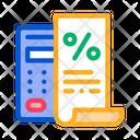 Check Mathematical Interest Icon