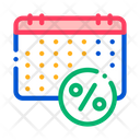 Salary Calendar Schedule Icon