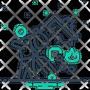 Emigrant Icon
