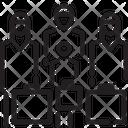 Refugee Human Baggage Icon