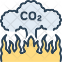 Emission Release Co Icon