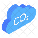 Weather Pollution Emission Co 2 Cloud Icon